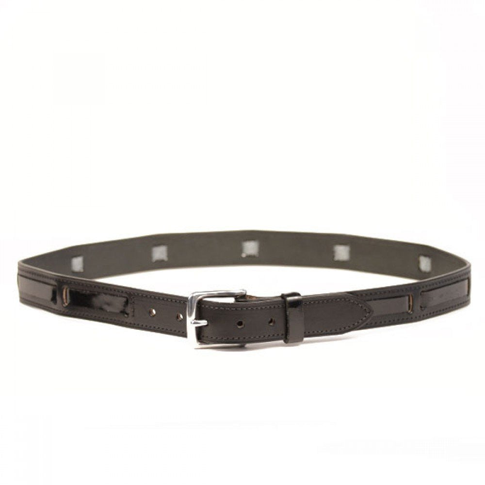 Clever with Leather London Patent Belt - Saratoga Saddlery