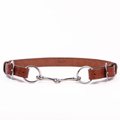 Clever with Leather Hoofpick Belt - Black