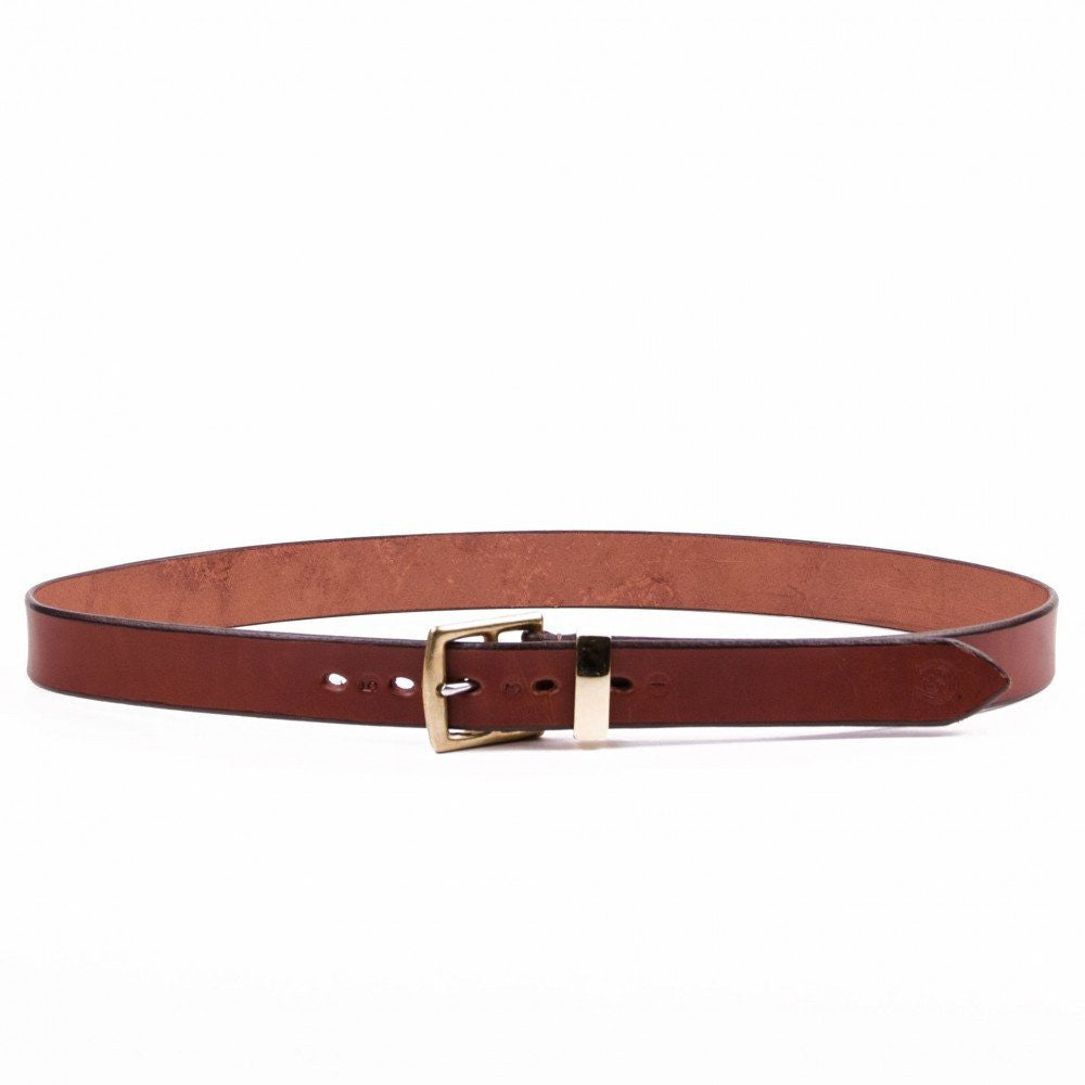 Clever with Leather Stirrup Belt - Medium Brown - Saratoga Saddlery