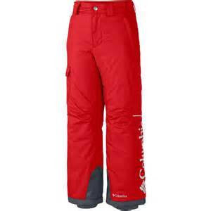 Columbia Boys' Ice Slope II Pant in Hyper Blue