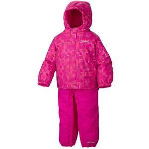 Columbia Girl's Fresh Pow Set Groovy Pink - Saratoga Saddlery