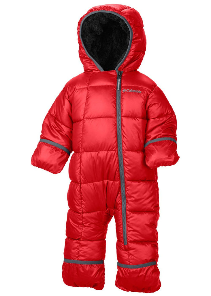 Columbia Kid's Frosty Freeze Bunting Red