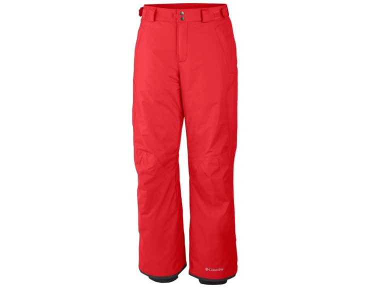 Columbia Men's Bugaboo II Snow Pants Red - Saratoga Saddlery