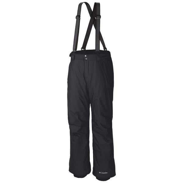 Columbia Men's Bugaboo Suspender Pant Black - Saratoga Saddlery