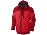 Columbia Men's Summit Crest Interchange Jacket Bright Red - Saratoga Saddlery