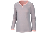 Columbia Sweetheart Grove Long Sleeve Shirt Tradewinds Grey - Saratoga Saddlery