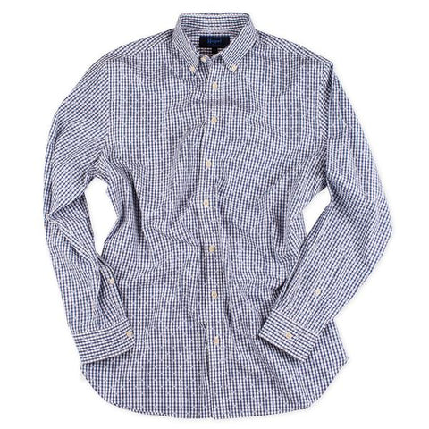7 Downie Street Long Sleeve Mens Sequenced Shirt