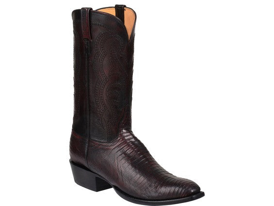 Lucchese Men's Kip Boot GY1036 - Black Cherry