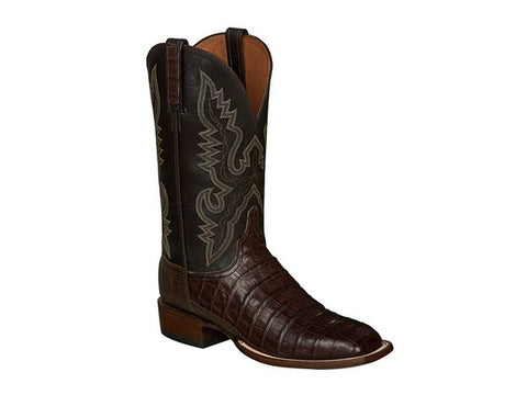 Lucchese Men's Tan Stallion Embroidered Boot N1631