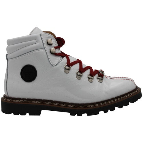 Ammann Town II White Patent Leather - Saratoga Saddlery & International Boutiques