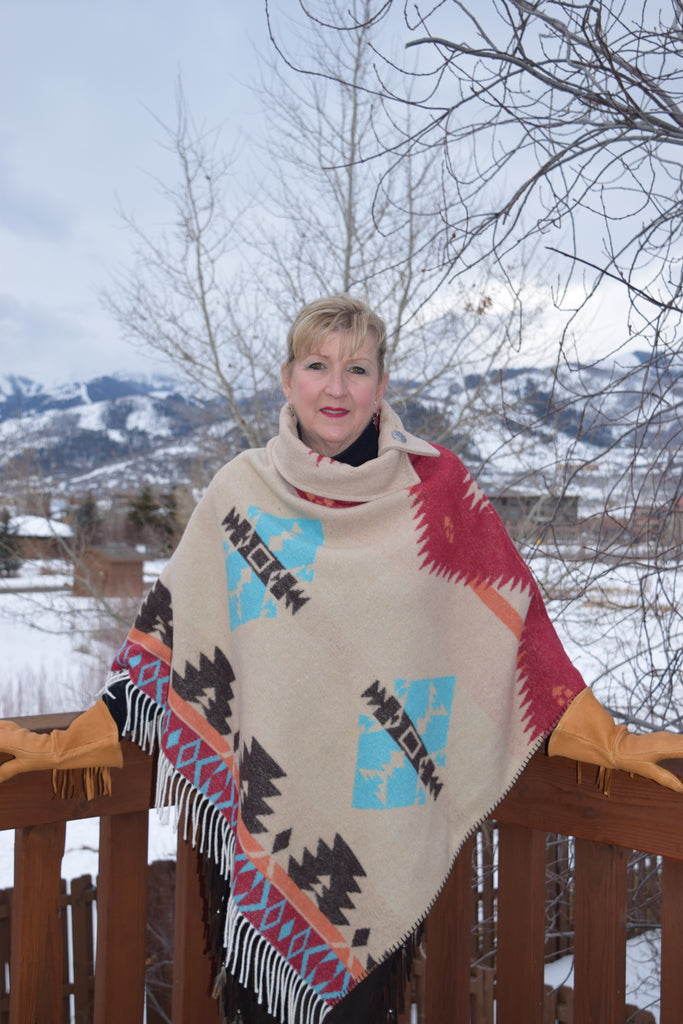 Rhonda Stark BC Poncho 208 - Saratoga Saddlery & International Boutiques