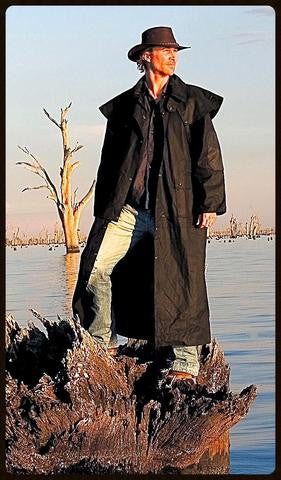 Outback Survival Gear - Drover Classic Full Length Coat - Saratoga Saddlery & International Boutiques