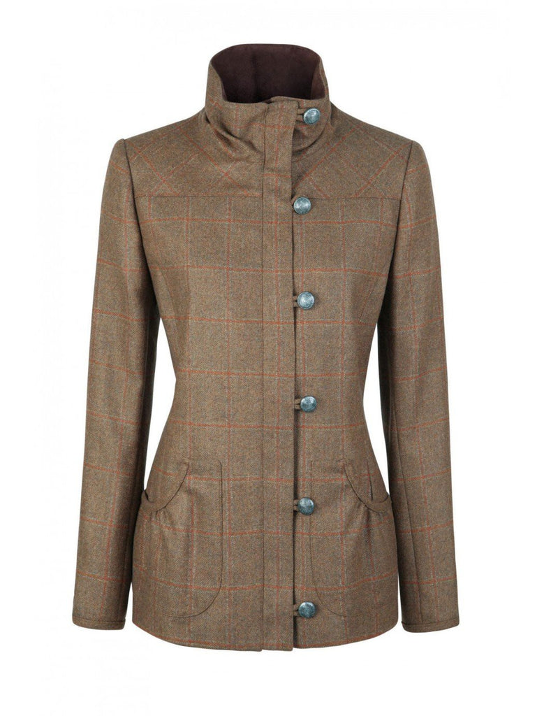 Dubarry Braken Oak Women's Tweed Jacket - Saratoga Saddlery