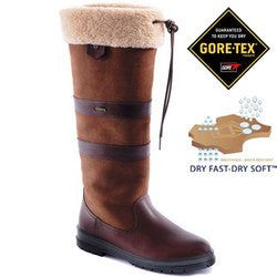 Dubarry Kilternan Fleece Boot (Walnut) - Saratoga Saddlery