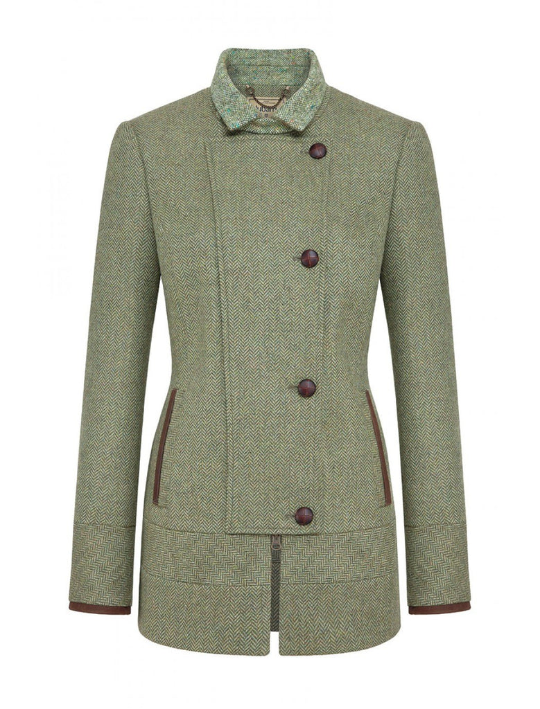 Dubarry Willow Women's Sporty Country Tweed Jacket - Saratoga Saddlery
