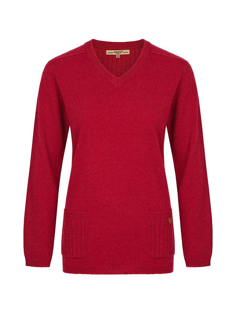 Dubarry Women's Flaherty Sweater in Crimson