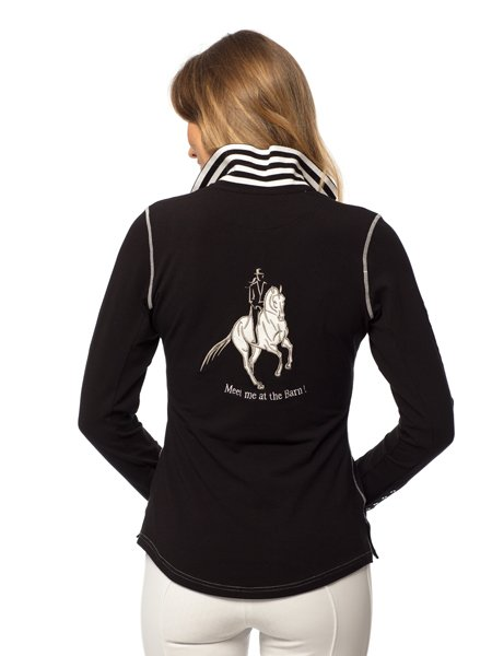 Goode Rider Champion Polo Black