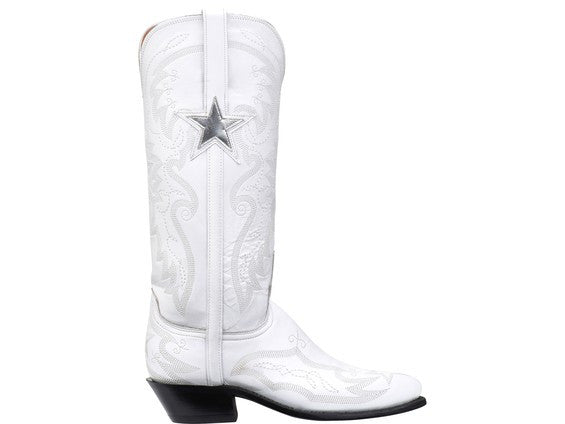 sports shoes 8dfbe a495b Lucchese Women's White Goat Dallas Cowboys Cheerleaders Boot - NV4009.J4