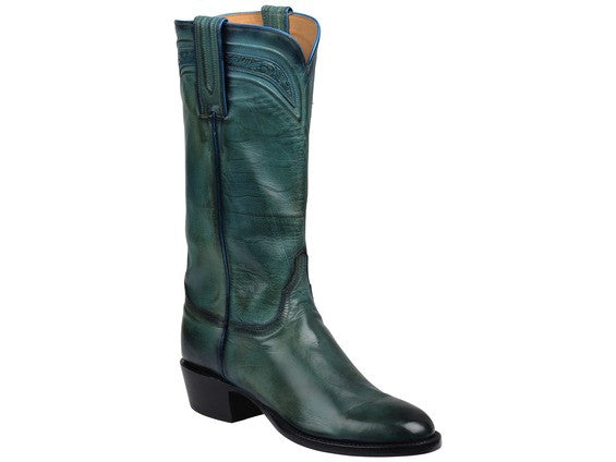 Lucchese Women's Bliss Royal Calf Boot in Blue GY4512