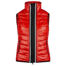 Horze Ruby Womens Padded Vest in Red 33468 - Saratoga Saddlery & International Boutiques