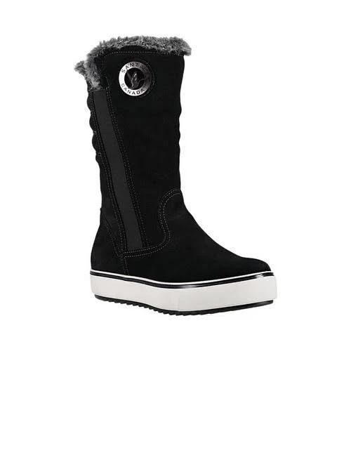 Santana Canada Maximo Women's Suede Black Winter Boot ON SALE NOW! - Saratoga Saddlery & International Boutiques