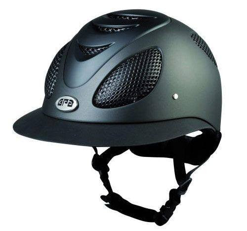 GPA First Lady Helmet Black - Saratoga Saddlery