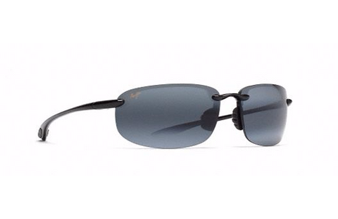 Maui Jim Ho'okipa Sunglasses in Gloss Black with HCL Bronze Lens