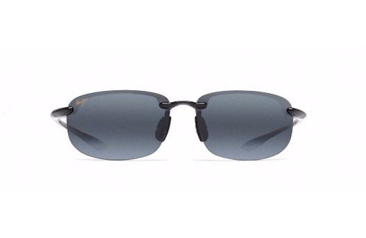 Maui Jim Ho'okipa Sunglasses in Gloss Black with Neutral Grey Lens - Saratoga Saddlery & International Boutiques