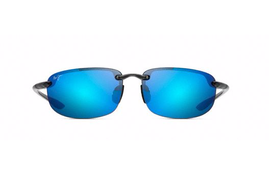 6f13583fc87 Maui Jim Ho okipa Sunglasses in Smoke Grey with Blue Hawaii Lens ...
