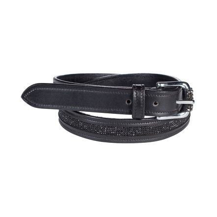 Horze Crescendo Women's Narrow Crystal Belt - Saratoga Saddlery