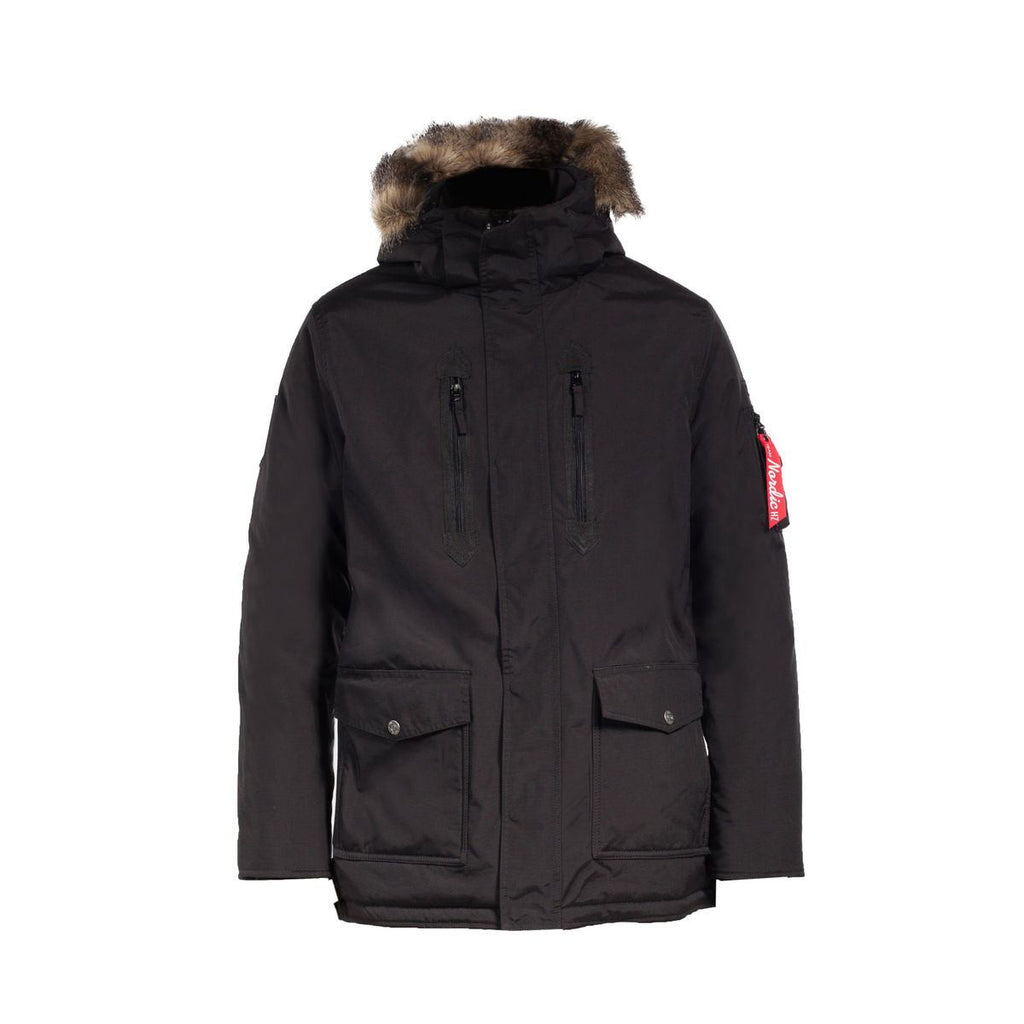 Horze Supreme Landon Men's Long Parka Jacket - Saratoga Saddlery