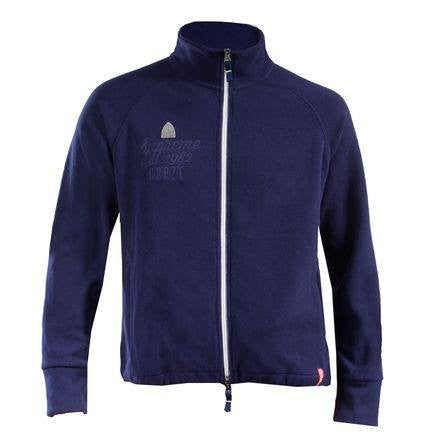 Horze Supreme Langston Unisex Fleece Jacket Navy - Saratoga Saddlery