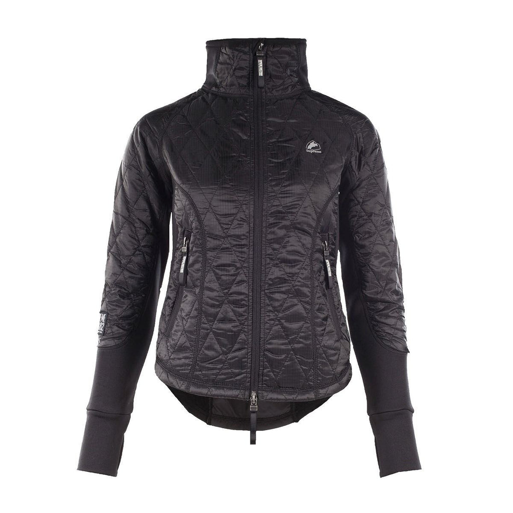 Horze Supreme Zoe Women's Lightweight Padded Jacket in Black - Saratoga Saddlery