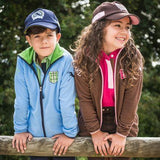 Horze Tea Jr Children's Fleece Jacket Blue