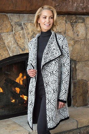 Icelandic Design Holly Long Cardigan - Saratoga Saddlery