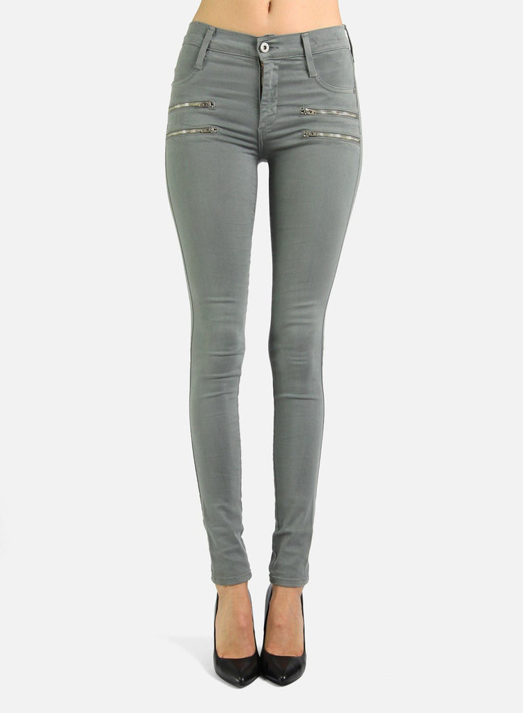 James Jeans Twiggy Crux Skinny Jean in Stonehenge - Saratoga Saddlery