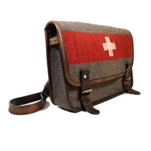 Karlen Swiss Army Blanket Messenger Bag - Saratoga Saddlery