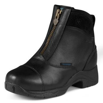 Ariat Kid's All Around Half Chap in Black Suede