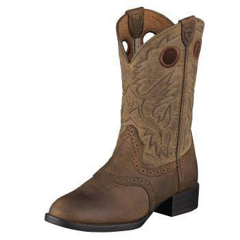 Ariat Kid's Heritage Stockman Boots - Saratoga Saddlery