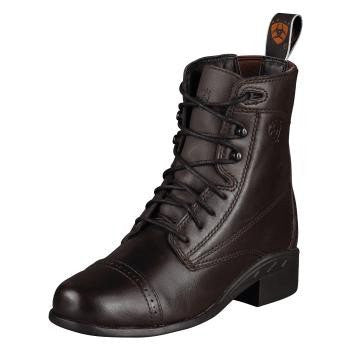 Ariat Youth Tombstone Boot in Black Deertan