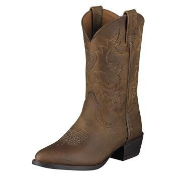 Ariat Kid's Performer III Boots in Chocolate