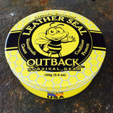 Outback Leather Seal - 150g Tin - Saratoga Saddlery