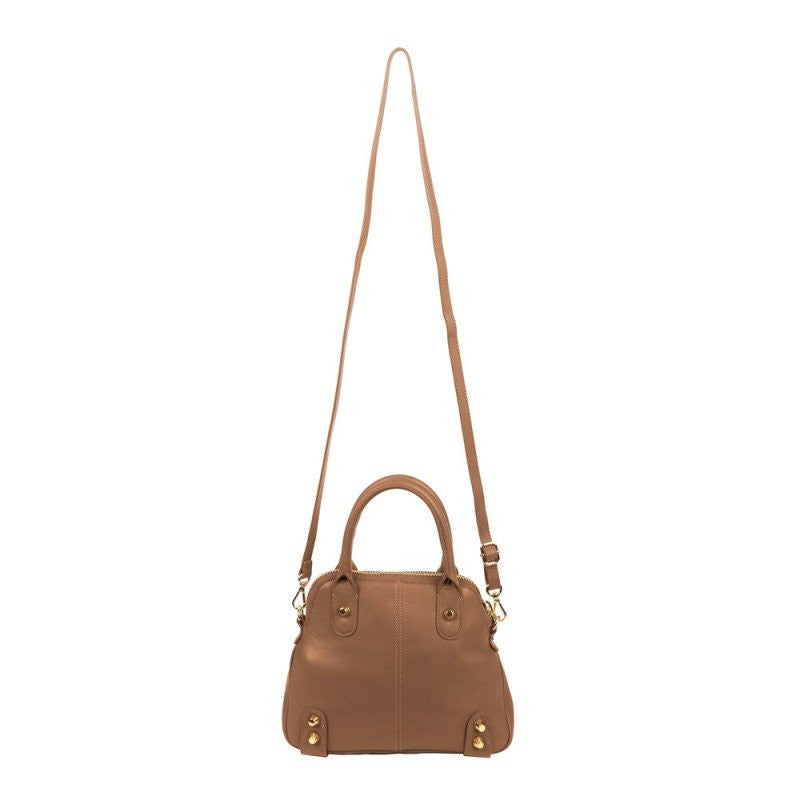 Linea Pelle Lady Dylan Mini Bag Cognac - Saratoga Saddlery