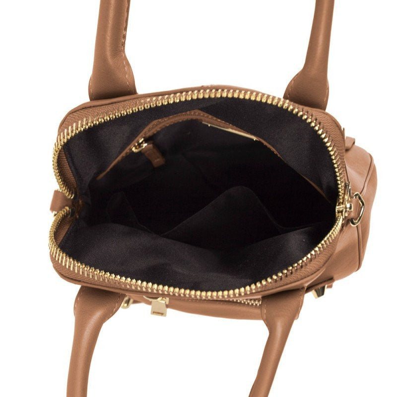 Linea Pelle Lady Dylan Mini Bag Cognac