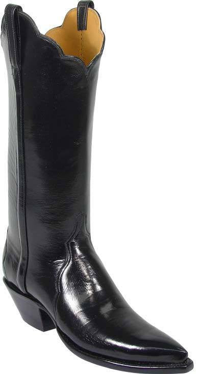Lucchese Black Buffalo L4557 - Saratoga Saddlery