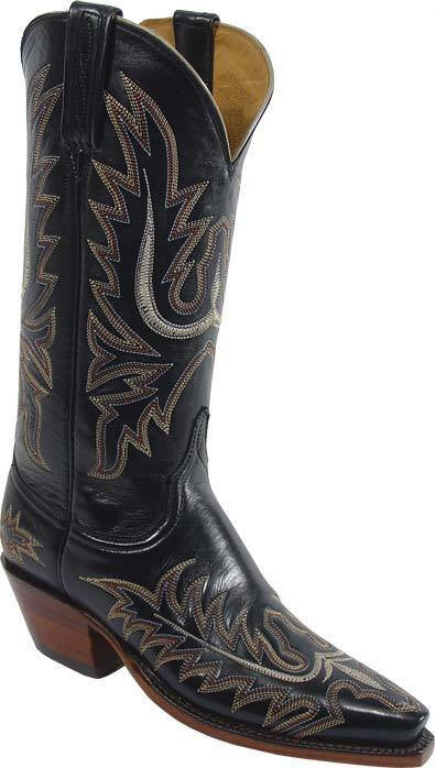 Lucchese Black Calf L4552 - Saratoga Saddlery