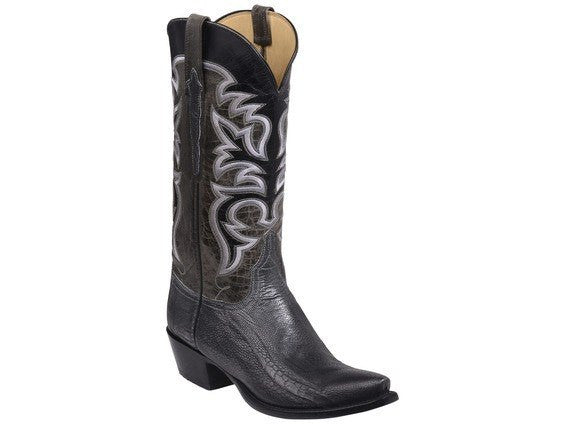 Lucchese Dudley, Graphite and Anthracite - Saratoga Saddlery