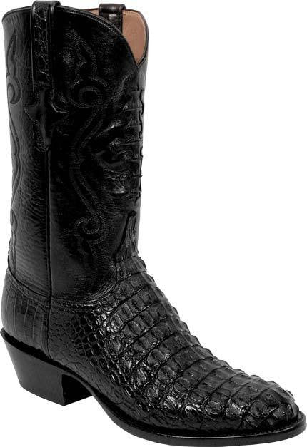 Lucchese Black Nile Crocodile Boots Best Price And