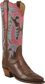 Lucchese Chocolate Oil Calf L4650 - Saratoga Saddlery