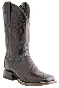 Lucchese Jonah Men's Roper in Black Cherry - GY8903
